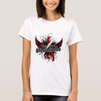 Throat Cancer Awareness 16 T-Shirt