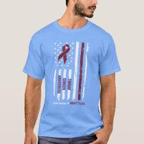 Throat Cancer Awareness because it Matters T-Shirt