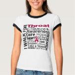Throat Cancer Awareness Walk T-shirts