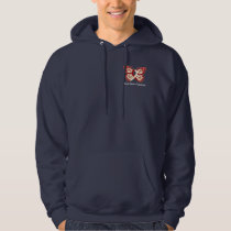 Throat Cancer Awareness with Butterfly Ribbon Hoodie