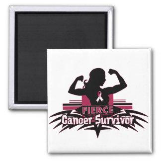 Throat Cancer Fierce Cancer Survivor Magnet