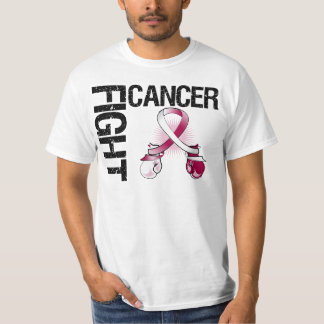 Throat Cancer Fight Boxing Gloves T Shirt