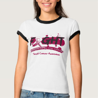 Throat Cancer FIGHT Supporting My Cause T-shirt