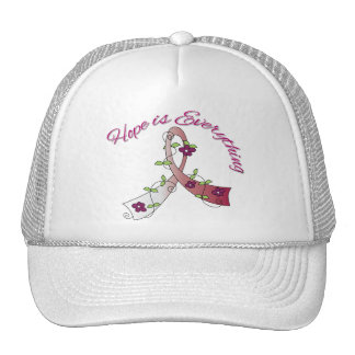 Throat Cancer Hope is Everything Hat