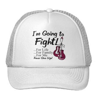 Throat Cancer I am Going To Fight Trucker Hat