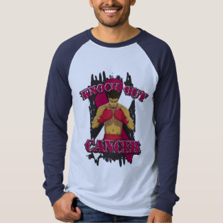 Throat Cancer Knock Out Cancer Tee Shirt