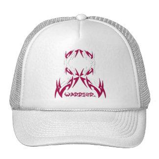Throat Cancer Mens Warrior Tribal Mesh Hat
