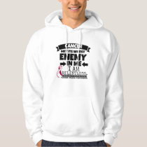 Throat Cancer Met Its Worst Enemy in Me Hoodie