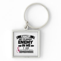Throat Cancer Met Its Worst Enemy in Me Keychain