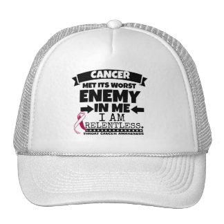 Throat Cancer Met Its Worst Enemy in Me Trucker Hat