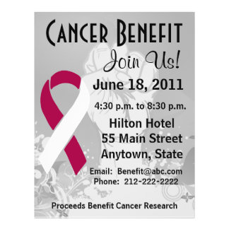 Throat Cancer Personalized Benefit Flyer