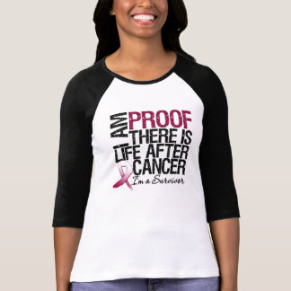 Throat Cancer Proof There is Life After Cancer T-shirt