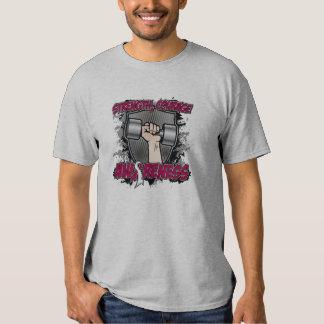 Throat Cancer Strength Courage Men T-shirt