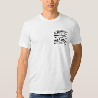 Throat Cancer Strongest Among Us T Shirt