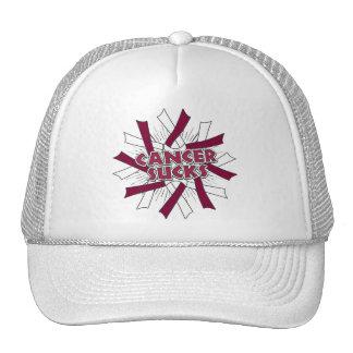 Throat Cancer Sucks Hat