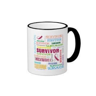 Throat Cancer Survivor Collage.png Ringer Coffee Mug