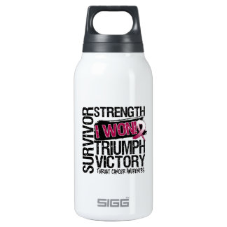 Throat Cancer Survivor I Won SIGG Thermo 0.3L Insulated Bottle