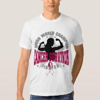 Throat Cancer Tough Survivor T-shirt