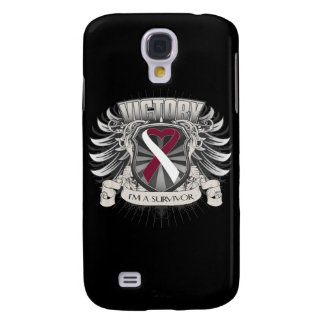 Throat Cancer Victory Samsung Galaxy S4 Cover