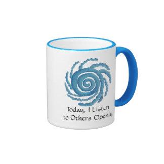 Throat Chakra Art - #3 Ringer Coffee Mug