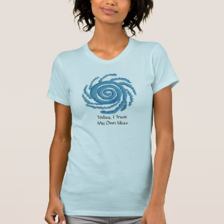 Throat Chakra Art #3 - Self Expression T-Shirt