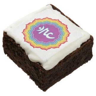 Throat chakra brownie