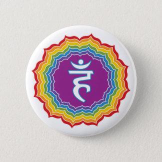 Throat chakra button