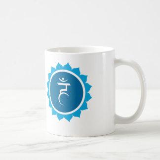 THROAT CHAKRA COFFEE MUG