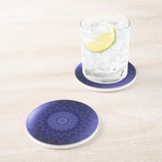 Throat Chakra Drinks Coaster