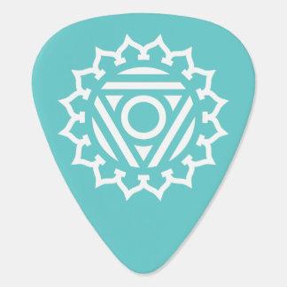 Throat Chakra Energy Custom Guitar Pick