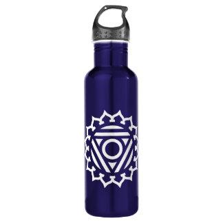 Throat Chakra Energy Water Bottle