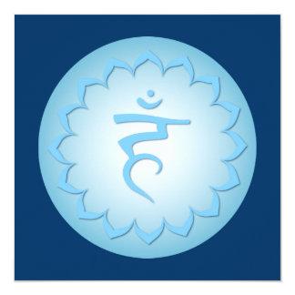 Throat Chakra - Light Blue Card