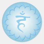 Throat Chakra - Light Blue Stickers