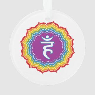 Throat chakra ornament
