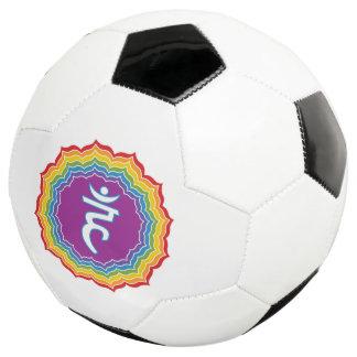 Throat chakra soccer ball