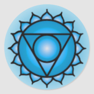 Throat Chakra Stickers