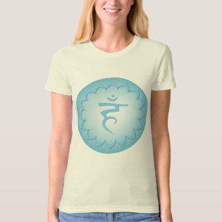 Throat Chakra w/details - Light Blue T-Shirt