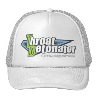 Throat Detonator cap Trucker Hat