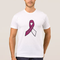 Throat, Neck Head Cancer Awareness Ribbon Shirt