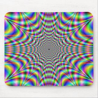 throbbing - optical illusion mouse pad