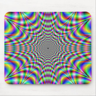 throbbing - optical illusion mousepads