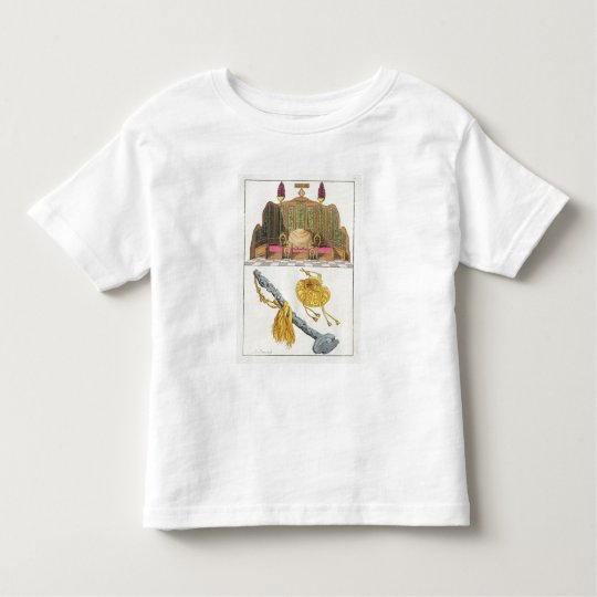 Throne of a Chinese Emperor, Yo-yo sceptre and cap Toddler T-shirt
