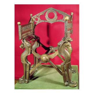 Throne of King Dagobert, Postcards