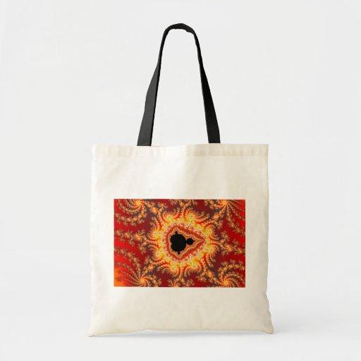 Throne of satan - Fractal Canvas Bag