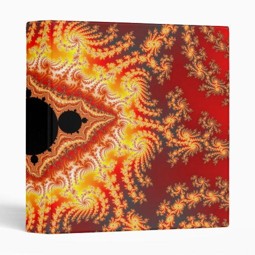 Throne of satan - Fractal Vinyl Binder