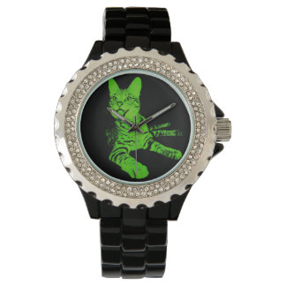 Thrones Black and Green Watch