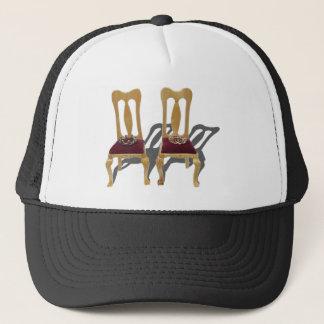 ThronesKingQueen122410 Trucker Hat