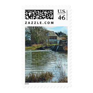 Throop Mill Postage Stamp