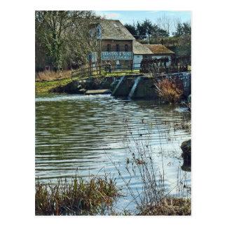 Throop Mill Postcard