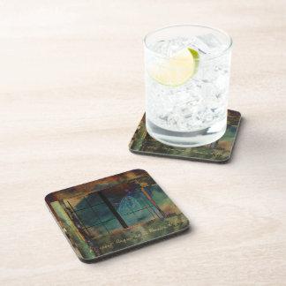Through a Glass Darkly Beverage Coaster